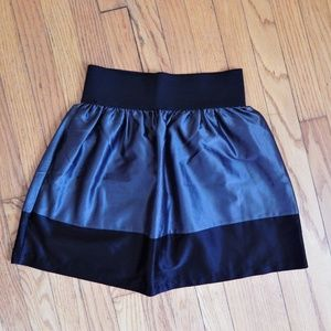 Mandee Gray and Black Skirt Sz S